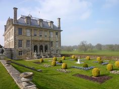 CURB APPEAL – another great example of beautiful design. Kingston Lacy, Dorset, England.