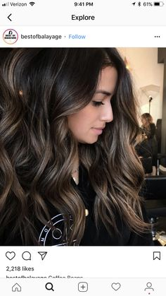 Hair color ideas for brunettes for summer low lights 18 ideas for 2019 - Haarfarben Ideen Hair Color And Cut, Brown Hair Colors, Hair Color Ideas For Dark Hair, Hair Ideas For Brunettes, Hair Colour, Low Lights For Brunettes, Ombre For Dark Hair, Dark Fall Hair, Summer Hair Color For Brunettes
