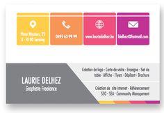 Carte Personnelle _ Graphiste Freelance à votre service =)