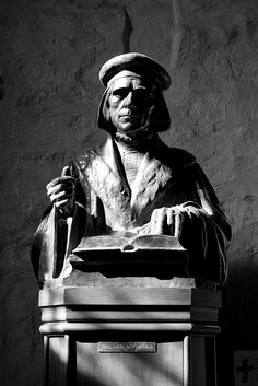 This statue is in Turku Cathedral. History Of Finland, Finnish Language, Protestant Reformation, Birches, New Testament, Luther, Seas, Norway, Darkness
