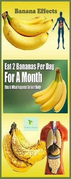 You Eat 2 Bananas Per Day For A Month, This Is What Happens To Your Body One of nature's most underrated fruits, the bananas are one of the most popular foods in the world because of their perfect … Herbal Remedies, Health Remedies, Natural Remedies, Health And Wellness, Health And Beauty, Health Fitness, Health Zone, Women's Health, Wellness Tips