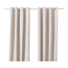 MERETE Pair of curtains - beige - IKEA