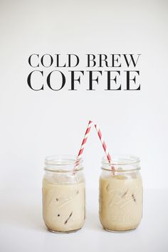 Cold Brew Coffee - Cold-Brewed Ice Coffee  2/3 cup ground coffee (medium-coarse grind is best)   1. In a jar, stir together coffee and 3 cups water. Cover and let rest in refrigerator overnight or 12 hours.  2. Strain twice through a coffee filter, a fine-mesh sieve or a sieve lined with cheesecloth.