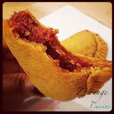Bully Beef Pâté/ Patty. Photo & Food by NZINGHA for ZLounge: Nouvelle Caribbean Cuisine