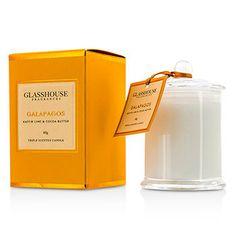 Glasshouse Ароматическая Свеча - Galapagos (Kaffir Lime & Cocoa Butter) 60g