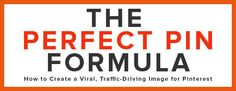 How A Site Doubled It's Repins By Using The Perfect Pin Formula
