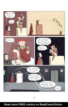 Nimona TPB - Read Nimona TPB comic online in high quality