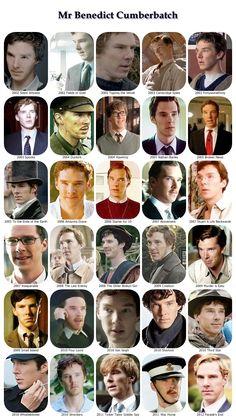 The many roles of Benedict Cumberbatch
