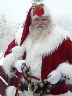 Santa and reindeer bells