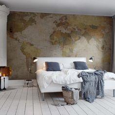Painéis Fotográficos - Maps - Painel Fotográfico World Map