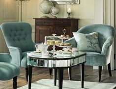 Afternoon tea with Laura Ashley 2014 Interiors Collection: Operetta