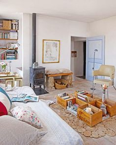 Renovate a country house with spirit