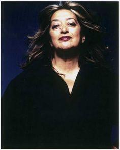 Großartige Frau und Architektin - Zaha Hadid