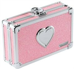 Pencil Box Pink Bling w/Heart | Shop accessories, fashion | Kaboodle