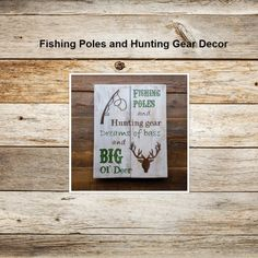 Fishing Poles and Hunting Gear Decor #Promotion… #PaidAd #ad #affiliatelink