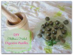 DIY Children's Digestive Pastilles