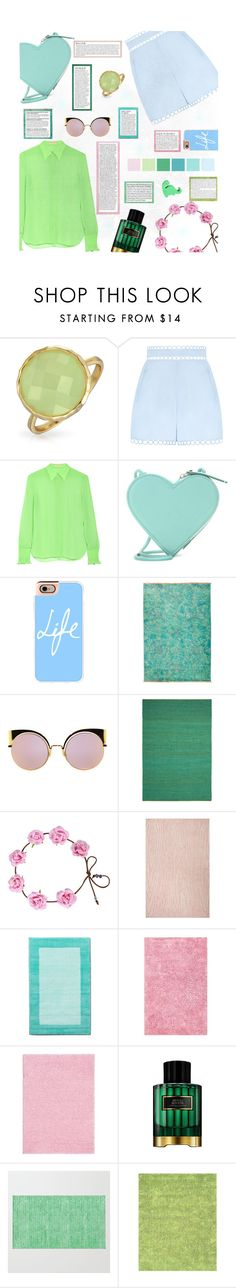 """""""Candied Constellation"""" by iambmogirl ❤ liked on Polyvore featuring Bling Jewelry, Zimmermann, Emilio Pucci, Christopher Kane, Casetify, Fendi, Nourison, Kate Spade, Anja and Pillowfort"""