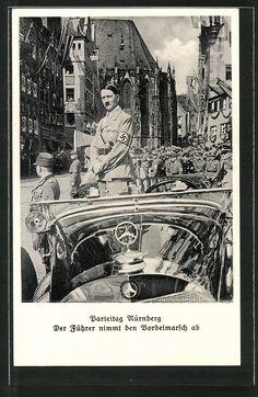 old postcard: AK Nürnberg . Reichsparteitag NSDAP