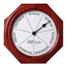 Classic Day 9.25 Inch Wall Clock - CLASSIC-M