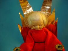Vintage Tagged Ronnaug Petterssen Cloth Norwegian Norway music box Angel Doll in Dolls & Bears, Dolls, By Type, Cultures & Ethnicities   eBay