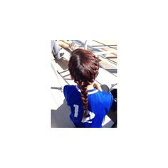 tumblr girl French braid TUMBLR GIRL ❤ liked on Polyvore featuring hair