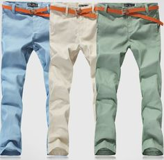 2013 summer trousers thin 100% cotton slim pants men's clothing trousers linen pants male casual pants US $15.36