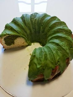 COOKING WITH JAPANESE GREEN TEA: Marble Cake with Matcha