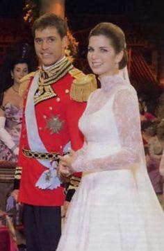 Luis Alfonso de Borbon y Martinez-Bordiu y Margarita Vargas Sanatella