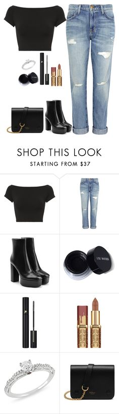 """omg"" by meli3108 on Polyvore featuring moda, Helmut Lang, Current/Elliott, Alexander Wang, Lancôme, Ice y Mulberry"