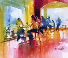 Art of Watercolor: Millind Mulick. Interview.