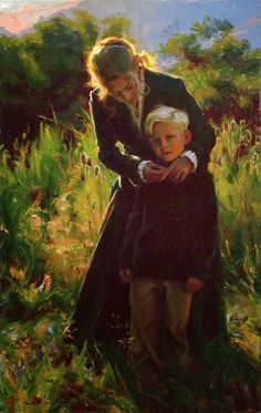 Michael Malm | American Figurative Painter | 1972 | Please click on the image for a look at the blog on this Artist's background history.