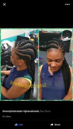 Afro-American hair braid styles of 2016 – make dimensional braids Ghana Braids Hairstyles, Braids Hairstyles Pictures, French Braid Hairstyles, My Hairstyle, Hair Pictures, African Hairstyles, Updo, Dope Hairstyles, Big Braids