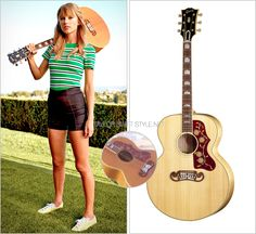 Gibson 'J-200 New Vintage Acoustic Guitar' - $5096.00 (starting price)