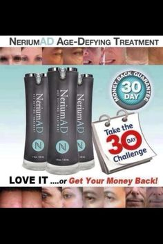 Take the challenge!  http://carlacbrown.nerium.com