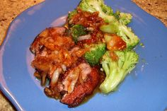 Something better than takeout: Five-Spice Duck Breast with Steamed Broccoli