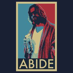 President Dude Abides, a t-shirt of walter, movie, obama, film ...