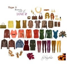 Type 3 Know it, Live it, LOVE it!, created by bonnydianne on Polyvore