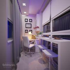 Interior Balcony, Apartment Balcony Decorating, Apartment Design, Room Design Bedroom, Home Room Design, House Design, Small Balcony Decor, Balcony Design, Small Space Interior Design