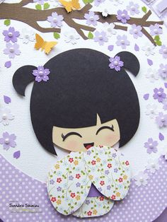 fun-ideas handmade: Kokeshi para Julia