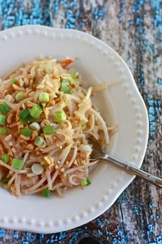 homemade pad thai - must try this!