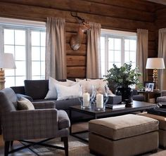 89 Excellent and Cozy Cabin Style Decoration Ideas - Homearchitectur