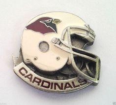 *** ARIZONA CARDINALS HELMET *** Novelty NFL Hat Pin P52012 EE
