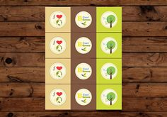FREE PRINTABLES - Earth Day cupcake toppers, Banner and Party Sign #earthday