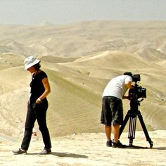 #WeBeTest day 4- day job: until recently my day job ( for a couple decades) was producing television programs first at CBC and then mostly for specialty channels. In this pic I am shooting with my crew near the Dead Sea in Israel for a show about ancient archaeology. But 3 years ago I put my hands in clay for the first time at a night class- and that was it for me. Since then my day job is making #clayshapes and roaming the craft show circuit with my artisan pals. by clayshapes