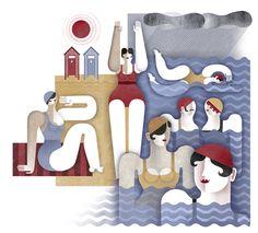 Personal work 2012 by Maria Corte Maidagan, via Behance