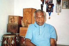 Amador Ballumbrosio chez lui à El Carmen.