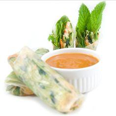 Thai Fresh Spring Rolls | The Delicious Revolution
