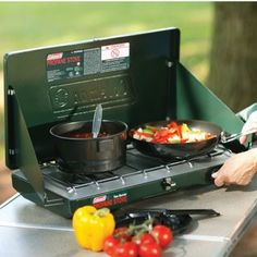 Camping Stove Coleman Two Burner Propane Portable Outdoor Cooking Backpacking Camping With Kids, Tent Camping, Camping Gear, Camping Style, Camping Trailers, Stealth Camping, Camping Cabins, Hiking Style, Tiny Trailers