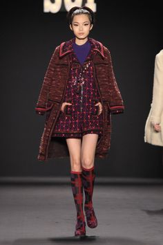ANNA SUI FALL 2013   LOOK 34