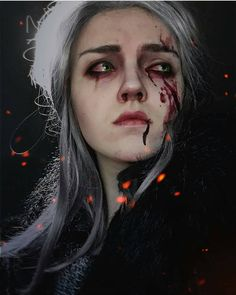Ciri (Cosplay) (The Witcher) Ciri Witcher, Witcher Art, Female Character Concept, Character Art, The Witcher Game, Digital Art Girl, Arte Horror, Character Design Inspiration, Beautiful Artwork